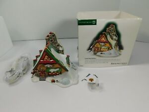 Dept-56-North-Pole-Series-Frosty-Pines-Outfitters-with-Box