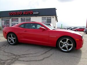 2013 Chevrolet Camaro Coupe 2LT Automatic Camera Bluetooth Leather Certified