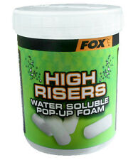 FOX CARP FISHING TACKLE HIGH RISERS 100% WATER SOLUBLE FISH FRIENDLY POP-UP FOAM
