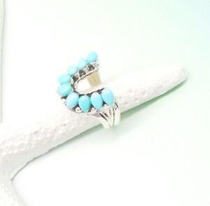 Mohave-Tuerkis-blau-gruen-Indianer-Design-Ring-18-0-mm-925-Sterling-Silber-neu
