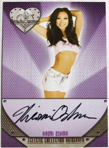 2016 Benchwarmer Eclectic HIROMI OSHIMA Autograph