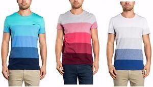 Mossimo-Men-039-s-Aireys-Tail-Cotton-Stripe-Crew-T-Shirt-3-Colours