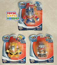 3X Transformers Rescue Bots Mr. Potato Head Mashers - Optimus Bumblebee Grimlock