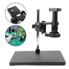 34mp Hdmi 1080p Usb Industry Microscope Video Camera Set 180x C Mount Lens New