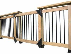 Clearance-Pylex-11052-Sliding-gate-kit-Black
