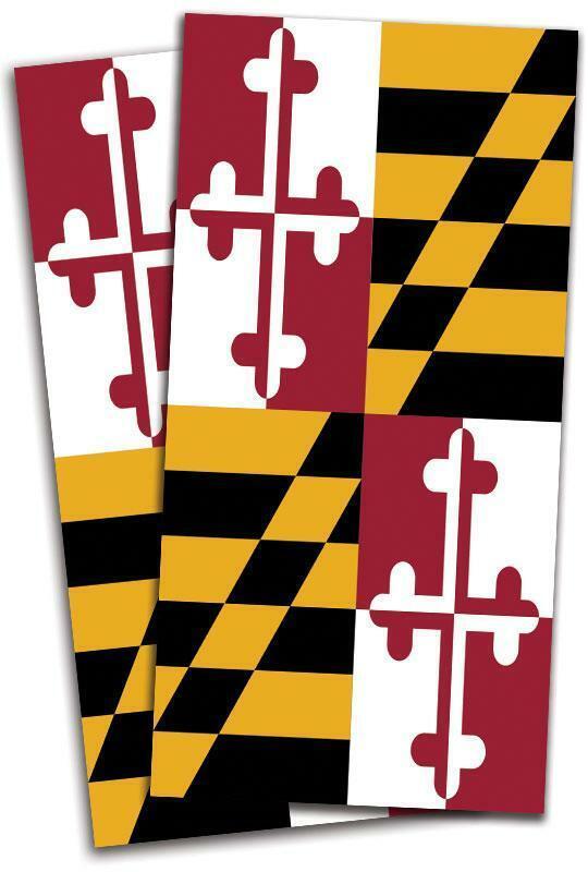 Maryland  Flag Cornhole Bag Toss Wrap Set  clearance up to 70%