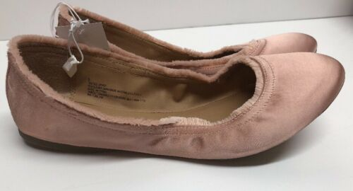NEW Mossimo Supply Co Pink Ona Flat Ballet Fringe Edge Look