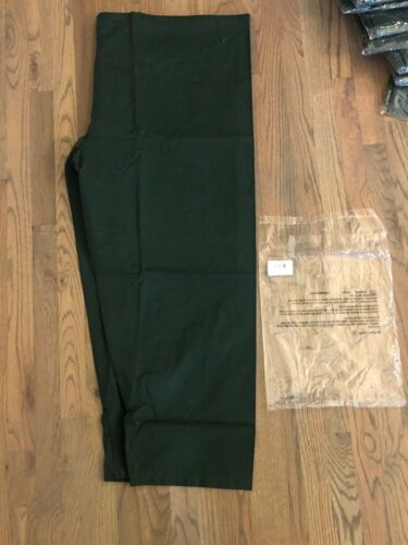 """NEW Scrub Pants By Uniform Works Chef Works Baggy Hunter Green /""""7XL/"""" Unisex D3"""
