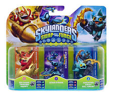 Skylanders swap Force-Big Bang Trigger Happy + star Strike + A.. a.. Gill Grunt