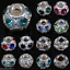 5-20-50-X-Gems-Rhinestone-Crystal-Rondelle-Loose-Spacer-Beads-7mm-10mm-12mm-14mm thumbnail 4
