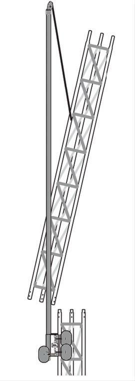 ROHN EF2545 Tower Erection Fixture System - Gin Pole for 25G 45G Tower Sections. Buy it now for 975.00