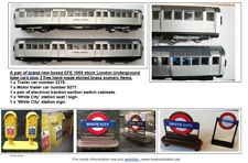 EFE 1959 London Transport Underground tube train railway models and accessories