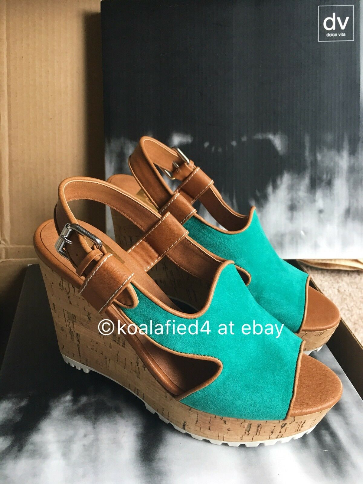 "Dolce Vita US - ""Jamila"" Genuine Suede Wedge - US Vita Woman Größe 6.5 eddf59"