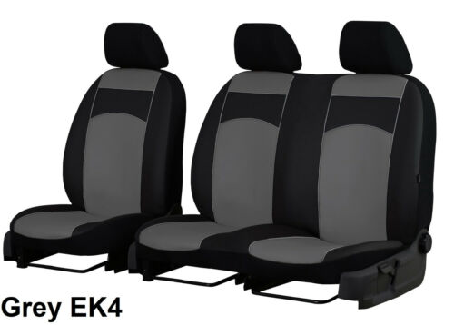 RENAULT MASTER 2010 ONWARDS ARTIFICIAL LEATHER 2+1 TAILORED SEAT COVERS