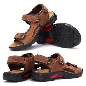 sport cuir en en de pour cuir neuves hommes Fisherman véritable respirant Sport Chaussures TUw5BqnZAn