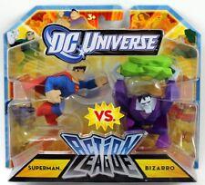 DC Comic Universe Action League Superman & Bizarro Action Figure