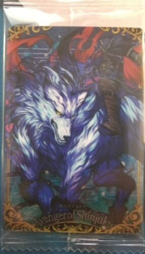 Avenger of Shinjuku Hessian Lobo Fate Grand Order FGO Wafer Card Vol 5 R 20