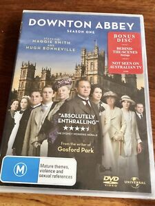 Downton-Abbey-Season-One-DVD-Universal-Regions-2-4-5-Brand-New-PAL