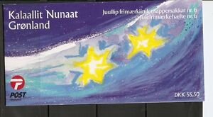 Greenland-SC-391a-Christmas-2001-Complete-Booklet