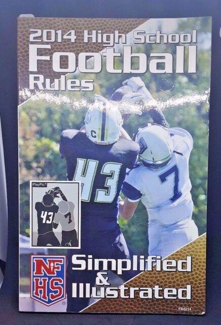 Football book nfhs rule
