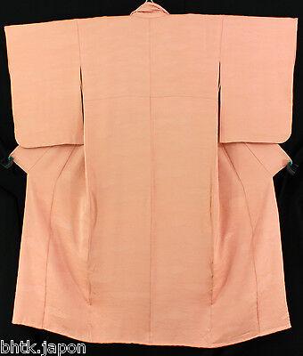 Coscienzioso 小紋 着物 Komon Kimono - Nuages Roses - Made In Japan 1260 Per Vincere Una Grande Ammirazione Ed è Ampiamente Fidato In Patria E All'Estero.
