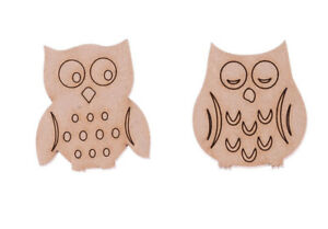 image is loading wooden mdf owl shapes engraved owls family tree