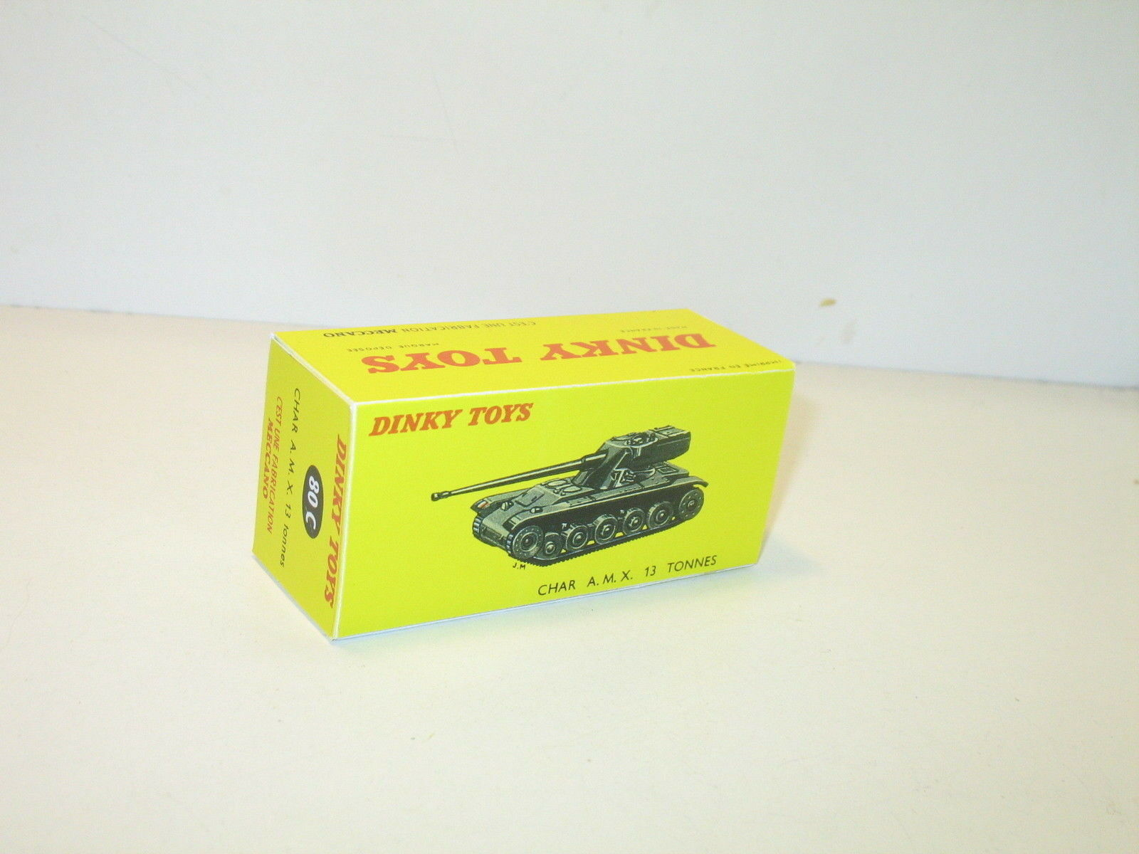 N32, SCATOLA char AMX 13 militare 80c, repro dinky