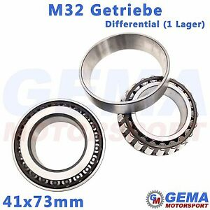 41x73mm Differential Lager M32 Getriebe Opel Astra H Z20LEH ...