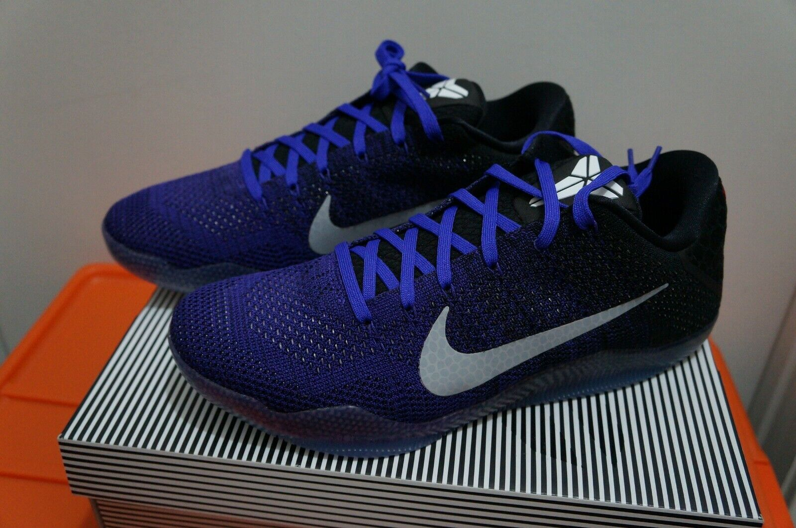 lowest price 8c90f fb8bb Kobe 11 Elite Low Eulogy Hyper Grape Mens Size SZ SZ SZ 10.5 822675-510