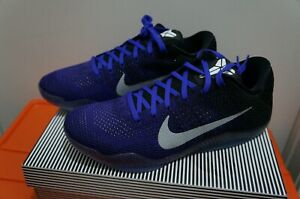 41f869406 Kobe 11 Elite Low Eulogy Hyper Grape Mens Size SZ 10.5 822675-510 ...