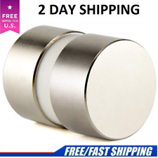 N52 Large Neodymium Rare Earth Magnet Big Super Strong Huge 40mm20mmmtwo Piece
