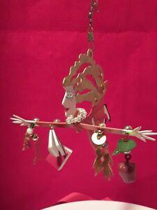 Christmas-Ornament-FANCIFUL-FLIGHTS-Teacher-SILVESTRI-BY-KAREN-ROSSI-2000-Metal
