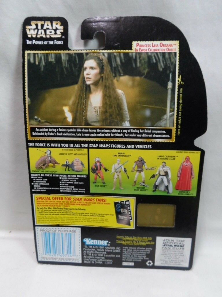 Kenner Star Wars Princess Leia Organa Ewok Collection 1 The of Power of The The Force 1694c8