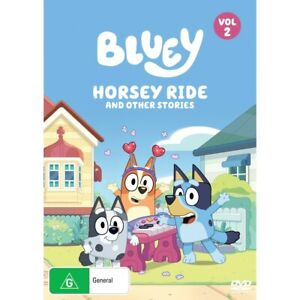 Bluey: Horsey Ride And Other Stories DVD