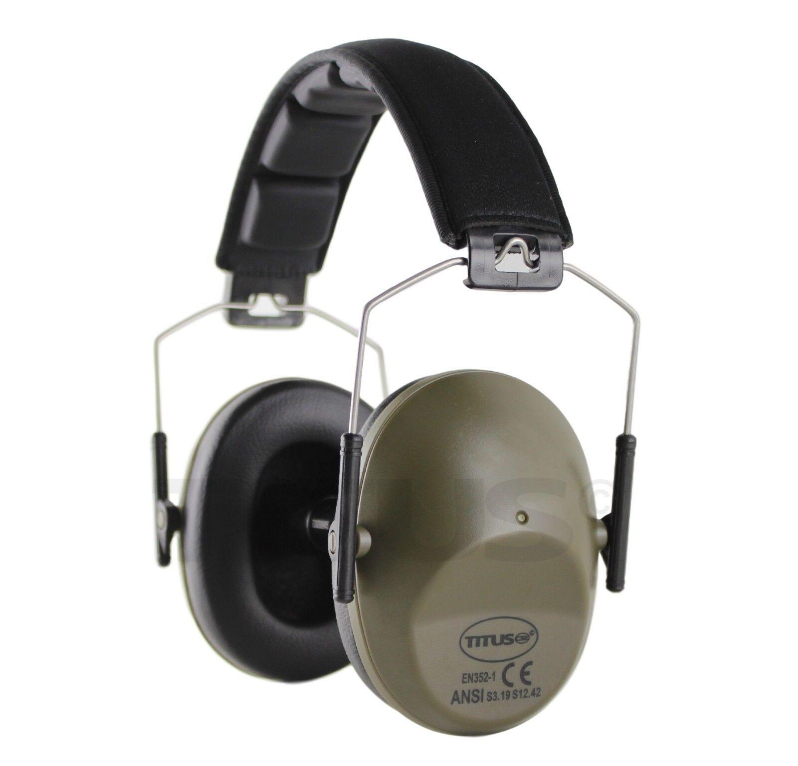 Titus 34//37 NRR EAR MUFFS HEARING NOISE PROTECTION HEADPHONES SHOOTING GUN RANGE