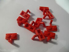 Lego 10 plates mod rouges set 3151 8362 7423 5980  /10 red  plate with arm