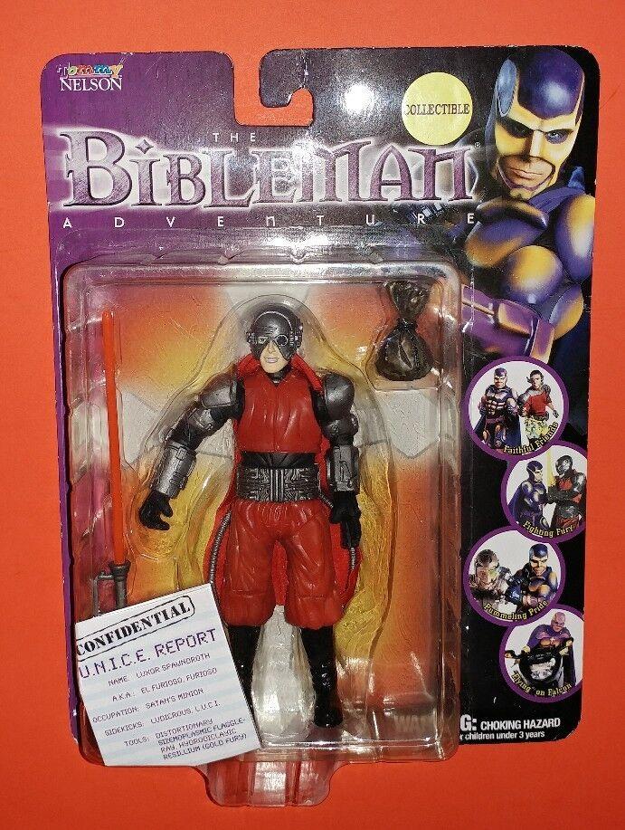 Bible MAN Action Figure El bissl FURIOSO 2000 nouvelle et scellée