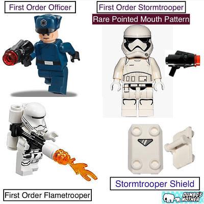 FIRST ORDER STORMTROOPER SHIELD STAR WARS MINI FIGURE CUSTOM LEGO MINI FIG