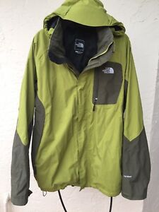 THE NORTH FACE 2 IN 1 ATLAS TRICLIMATE HYVENT MENS JACKET SZ L  5c921e89a