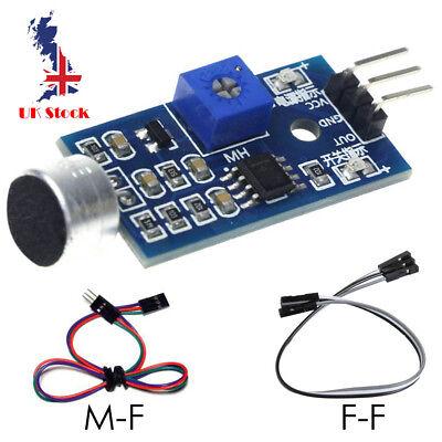 Sound Detection Sensor Module Sound Sensor for Arduino Raspberry Pi MM MF  cable 639713283976 | eBay