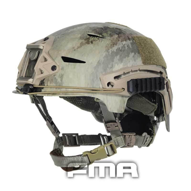 FMA calidad táctica Airsoft Projoectora Exf High BUMP un casco de camuflaje-TACS
