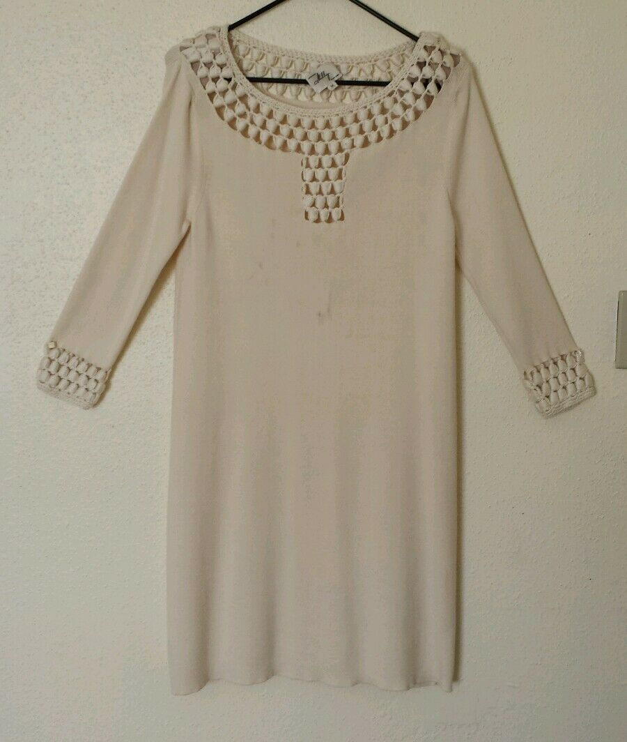 Authentic MILLY Of New York Beige Wool  Size M NWT   450.00