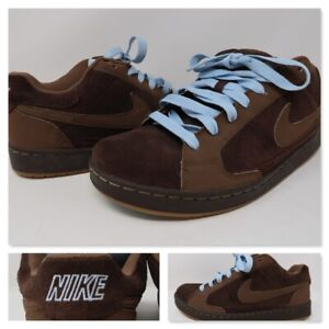 Nike-Nyx-Dylan-Mens-Skateboarding-Brown-Skate-Trainers-Shoes-330940-221-Size-9-5