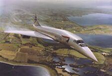 Concorde Heathrow British Airways Airliner Aircraft Plane Birthday  Card