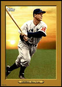 Lou Gehrig 2020 Topps Turkey Red 2020 5x7 Gold #TR-60 /10 Yankees