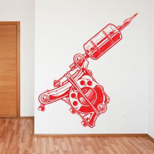 Tattoo Parlour wall sticker tattooist skull graphics quote decal art tt8