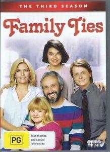 FAMILY-TIES-The-3rd-Third-Season-3-4-x-DVD-Set-NEW-SEALED-Michael-J-Fox