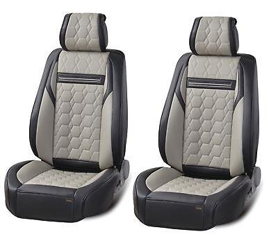Indipendente Deluxe Grigio Ecopelle Copri Sedili Anteriori Cuscinetto Per Infiniti Q30 I Consumatori Prima