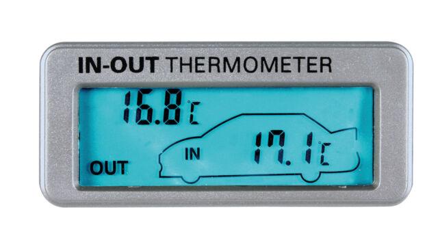 Seyio RCD-39-12//24V Orologio radiocontrollato con termometro interno//esterno