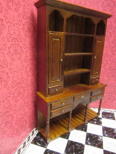 Maison de poupées meubles commode noyer ro429 hutch